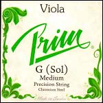 Prim Viola G String - chr/steel: Medium
