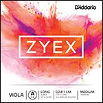 "Zyex 16""-17"" Viola A String - aluminum wound: Medium"