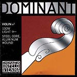 4/4 Dominant Violin E String - Aluminum/Steel: Thin/Weich with Ball End