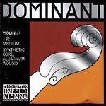 4/4 Dominant Violin A String - Aluminum/Perlon: Medium