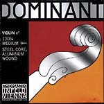 Dominant 3/4 Violin E String - Aluminum/Steel with Ball End