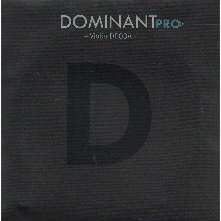 Dominant Pro Violin D String - silver/synthetic