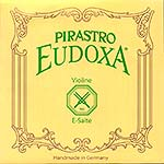 Eudoxa Violin E String - Aluminum/Steel: Thick/Stark with Loop End