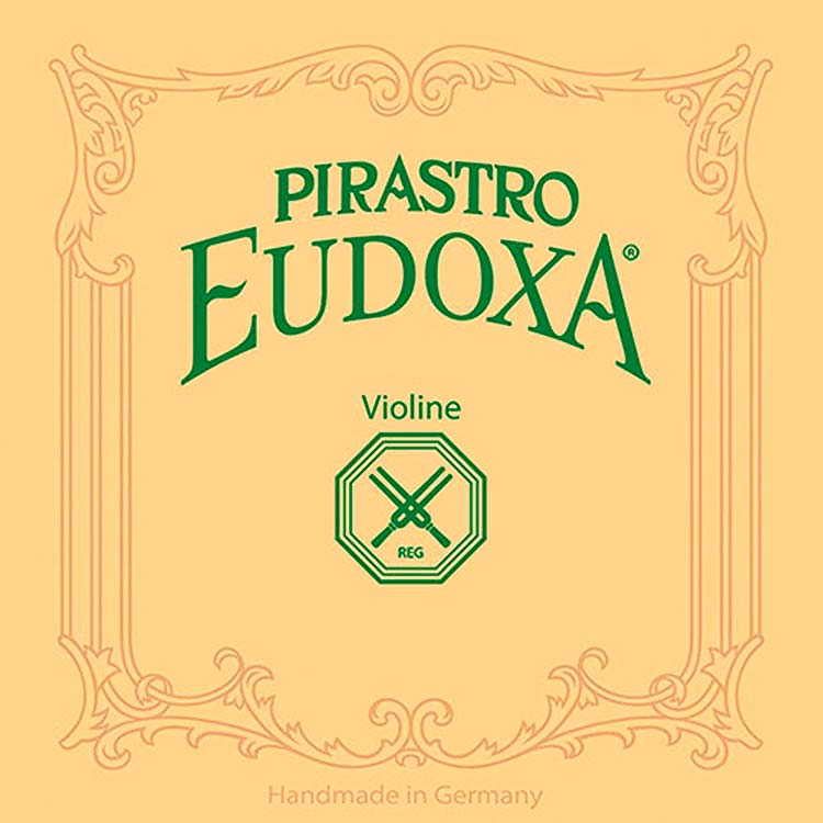 Eudoxa-Stiff Violin G String - Silver/Gut (15 1/2 Gauge) with Gut Knot