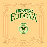Eudoxa-Stiff Violin G* String - Silver/Gut (15 3/4 Gauge) with Gut Knot
