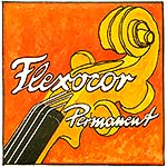 Flexocor-Permanent Violin G String - Silver: Medium with Ball End