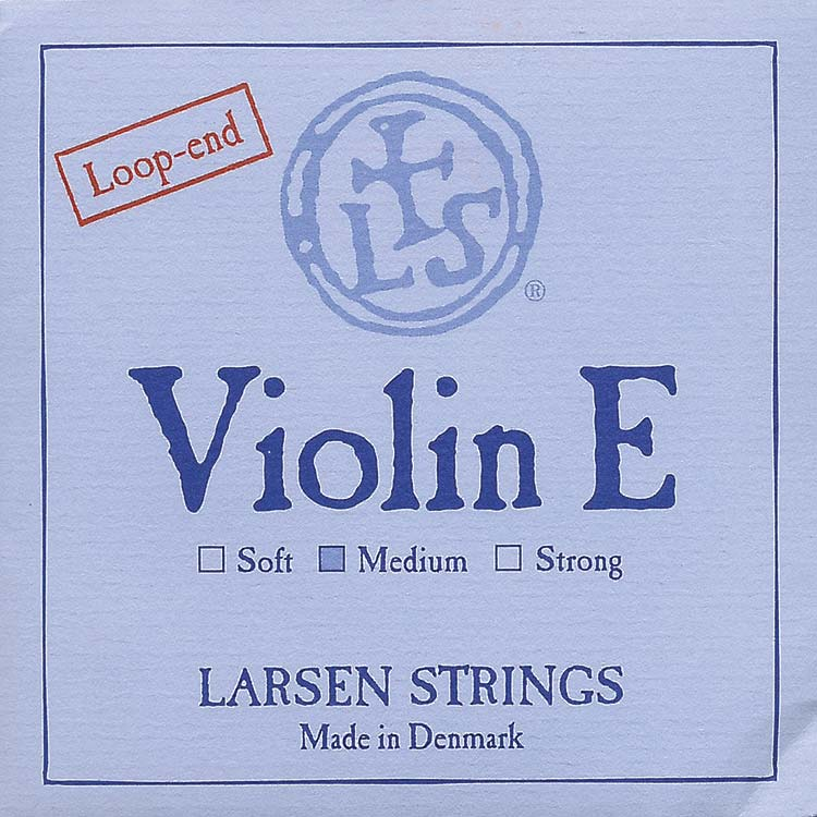 Larsen Violin E String - steel: Medium, loop end