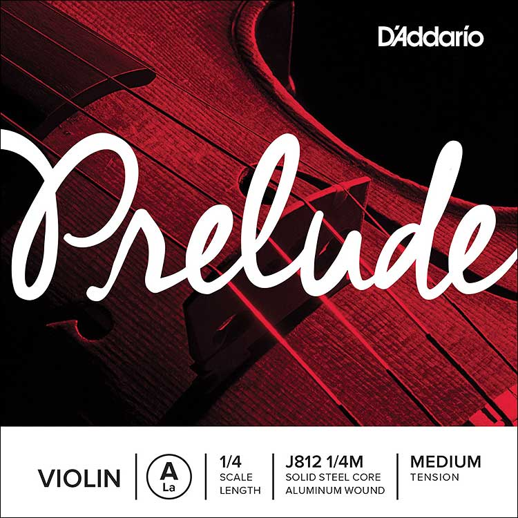 Prelude 1/4 Violin A String - aluminum/steel: medium
