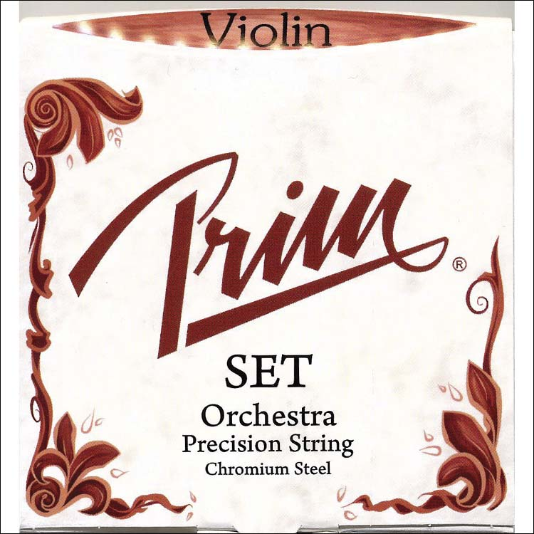 Prim Violin String Set - Orchestra (heavy), ball end E