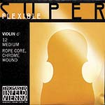 Superflexible Violin D String - chr/steel: Medium