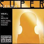 Superflexible Violin G String - chr/steel: Medium