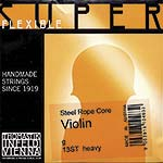 Superflexible Violin G String - chr/steel: Heavy