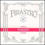 Synoxa Violin G String - silver/perlon: Medium