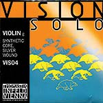 Vision Solo Violin G String - silver/synthetic: Medium