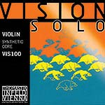 Vision Solo Violin String Set: Aluminum D - Medium