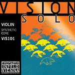 Vision Solo Violin String Set: Silver D - Medium