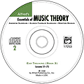 Essentials/Music Theory Ear Training CD 2 (book 3)