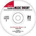 Essentials/Music Theory Ear Training CD 1 (book s. 1 & 2)