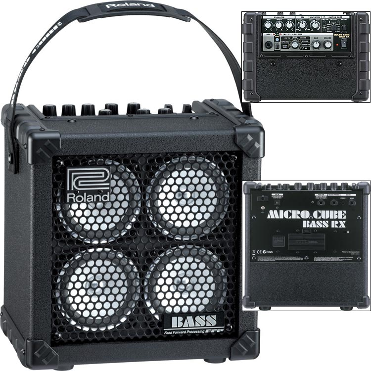 roland micro cb rx battery powered stereo bass amplifier johnson string instrument. Black Bedroom Furniture Sets. Home Design Ideas