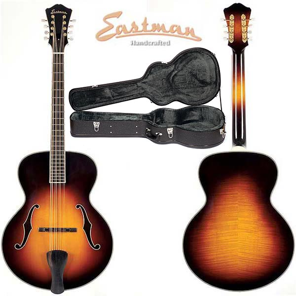 "Eastman MDC805 16"" Archtop Mandocello, Sunburst Finish"