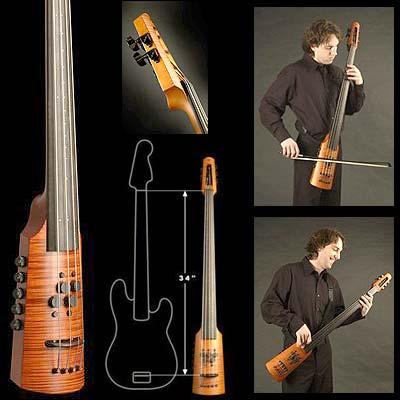 ns design electric 4 string cr4 omni bass johnson string instrument. Black Bedroom Furniture Sets. Home Design Ideas