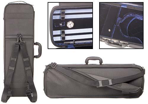 a2c03b72da Gewa Atlanta 4 4 Violin Case with Blue Velvet Interior