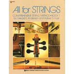 All for Strings, Book 1, Bass; Anderson/Frost (Neil A. Kjos Music)