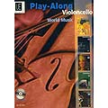 World Music, play-along cello, book with CD (Universal Editions)