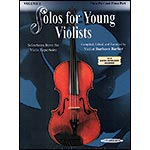 Solos for Young Violists, with piano accompaniment, book 2; Barbara Barber (Summy)