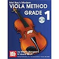 Modern Viola Method Grade 1, book with accompaniment CD; Martin Norgaard (Mel Bay)