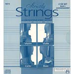 Strictly Strings, book 2 accompaniment CD for violin, viola, cello & bass (Alfred)