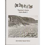 One Step at a Time, book 1, teacher's score/piano accompaniment for violin, viola, & cello; Jennie Lou Klim (JLK)