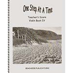 One Step at a Time, Book 4, teacher's score/piano accompaniment for violin, viola, & cello; Jennie Lou Klim (JLK)