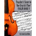 One Step at a Time, Book 5, teacher's score/piano accompaniment for violin, viola, & cello; Jennie Lou Klim (JLK)