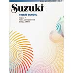 Suzuki Violin School, Volume 7, Piano Accompaniment (Revised Edition)