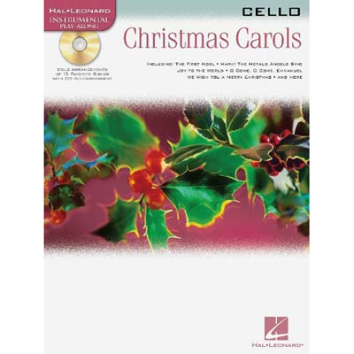 Christmas Carols for Cello, book with online audio access (Hal Leonard)