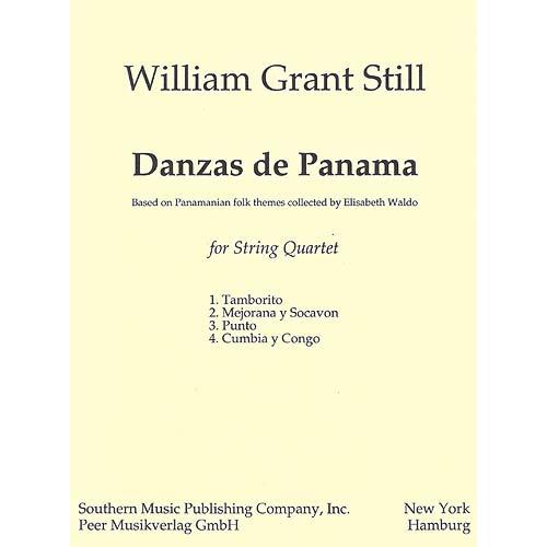 Danzas de Panama for string quartet (score)
