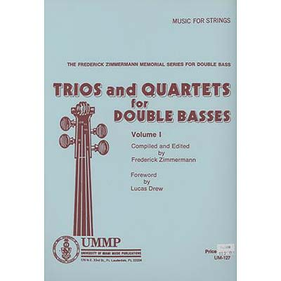 Trios and Quartets for Double Basses, Volume 2 (UMP)