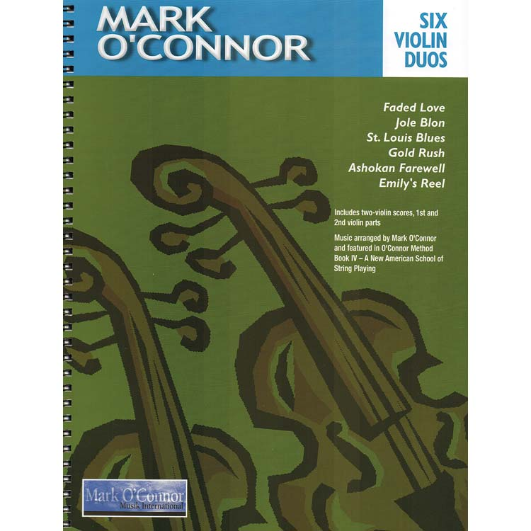Six Violin Duos arranged by Mark O'Connor