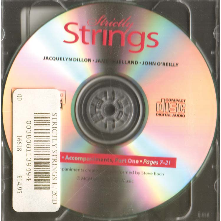 Book 1 Accompaniment Strictly Strings