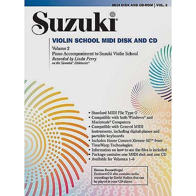Violin Midi Disk accompaniment/CD volume 2