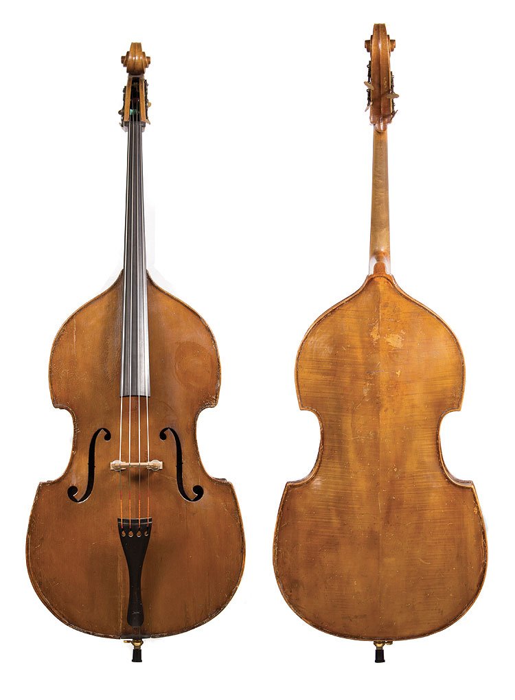 Featured German Upright String Double Bass