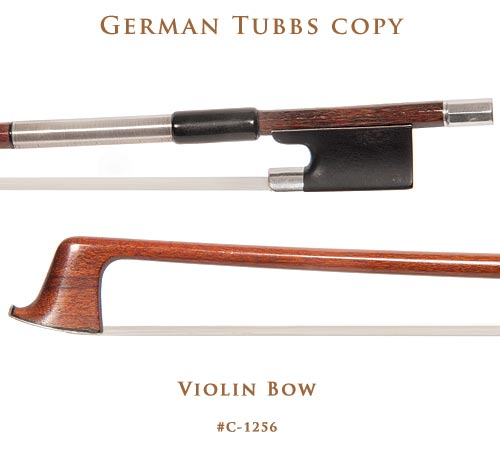 German Tubbs Violin Bow