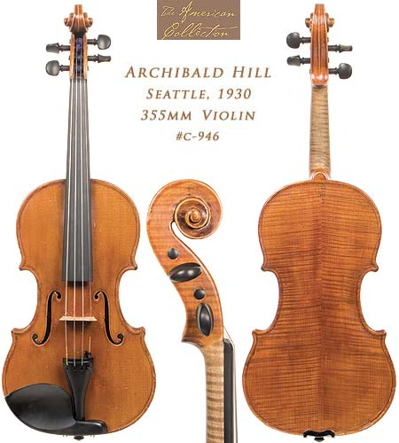 Archibald Somerville Hill violin