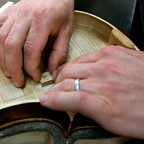 Expert guaranteed string Instrument repair and resoration