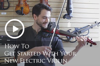 How To Get Started With Your New Electric Violin